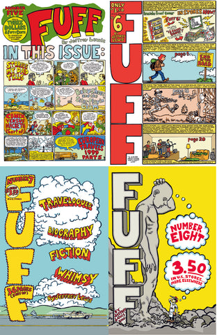 Fuff Four-Pack Comix Deal! (#5,#6,#7,#8)