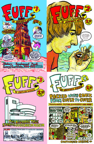Fuff Four-Pack Comix Deal! (#1,#2,#3,#4)