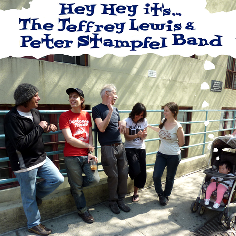 CD - The Jeffrey Lewis & Peter Stampfel Band - Hey Hey it's...