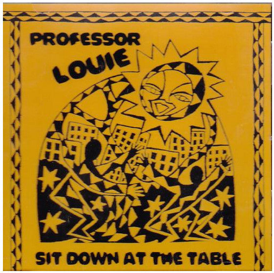 SOLD OUT - TAPE - Professor Louie: Sit Down at the Table (1987)
