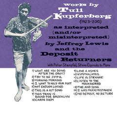 "CD - ""Works by Tuli Kupferberg"" by Jeffrey Lewis & The Deposit Returners"