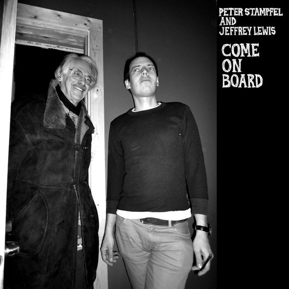 CD - Peter Stampfel & Jeffrey Lewis - Come On Board