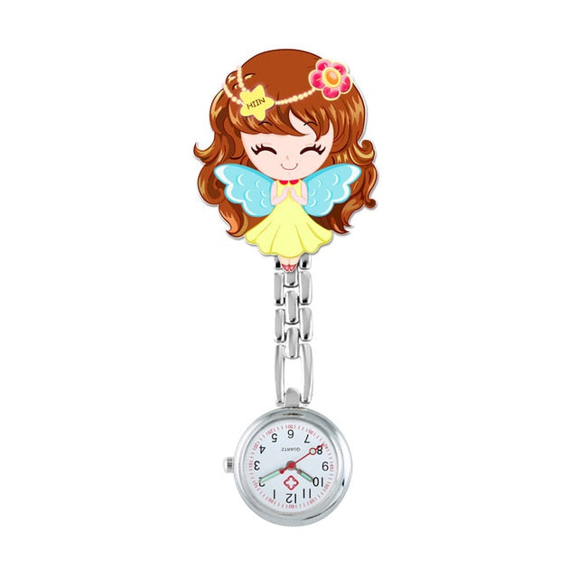 Nurse Watches With Quartz Movement, Cute Cartoon Design