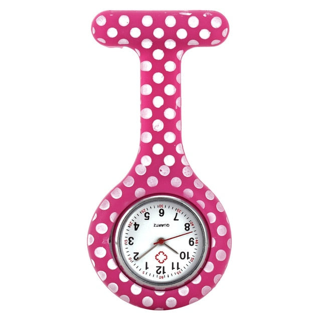 Clip-on Rubber Silicone Nurse Watch