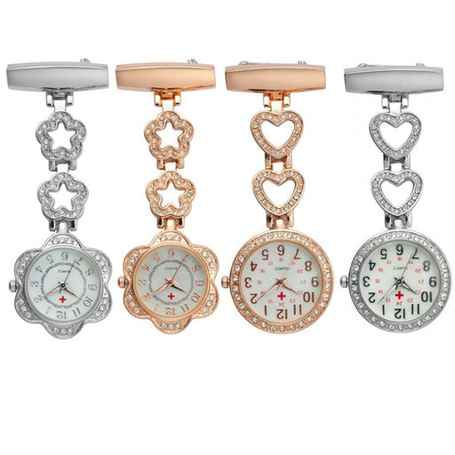 Fashion of the week, Women's Pocket Watch Clip-on Heart Pendant