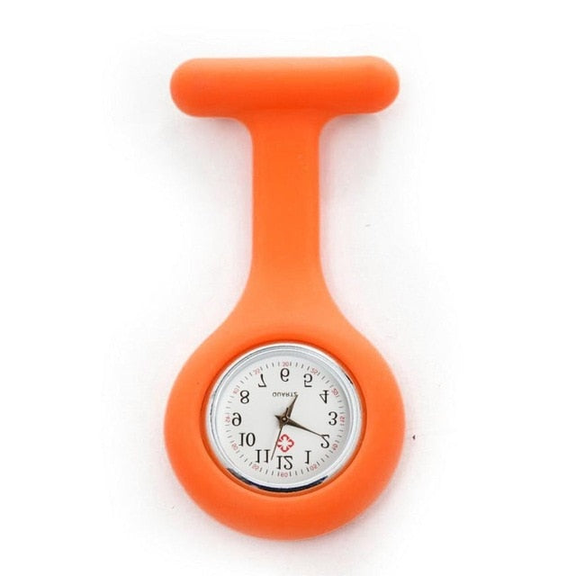 Silicone Brooch Fob Watch