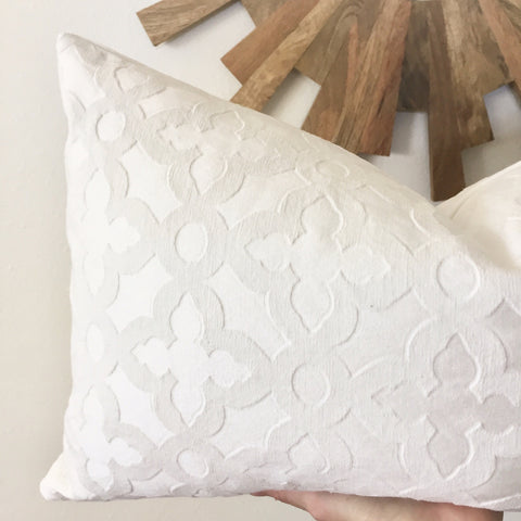 Trellis Pillow Cover - Citrine