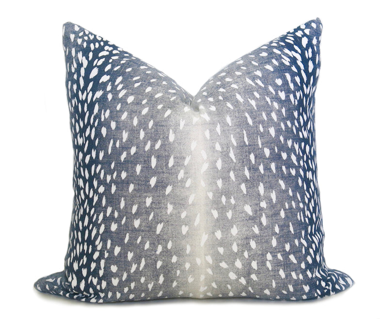 Belgium Velvet Pillow Cover - Regal Navy