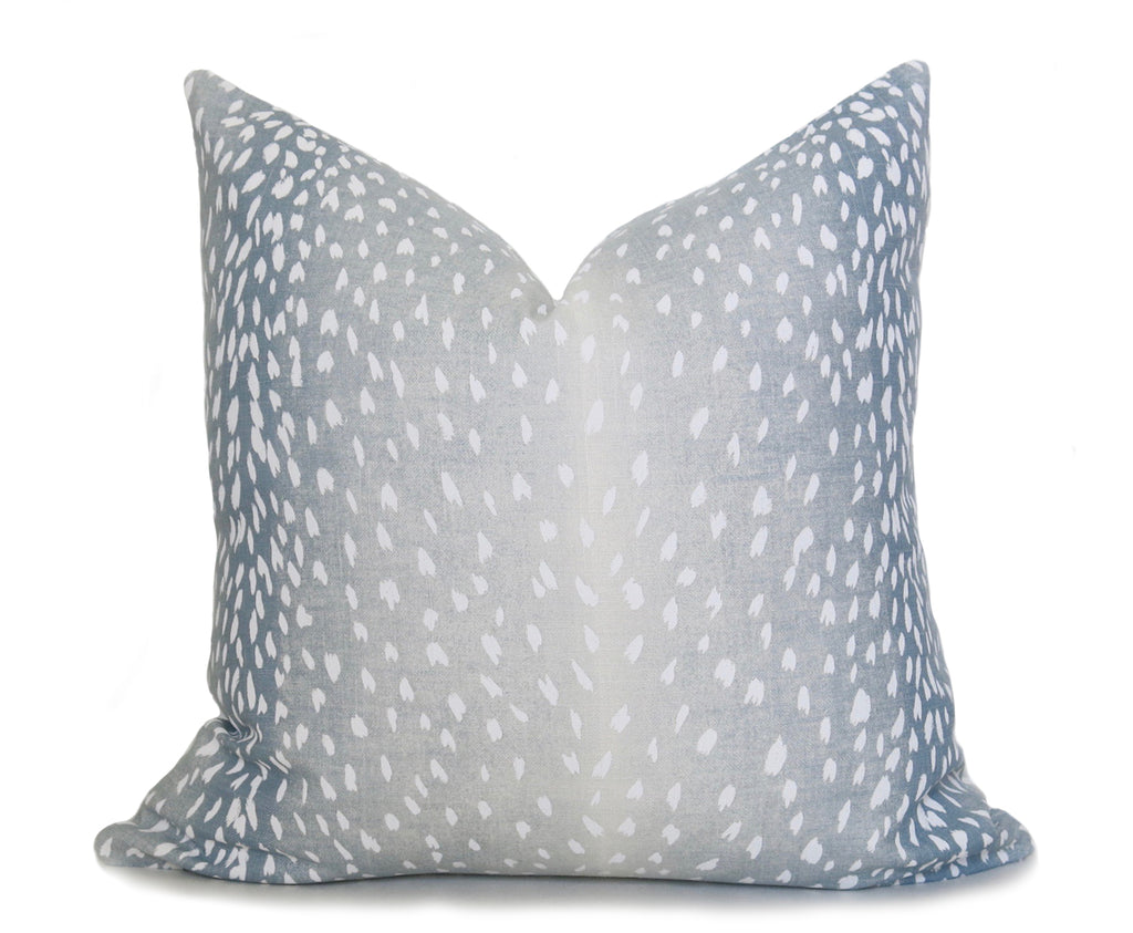 Antelope Pillow Cover - Spa Blue