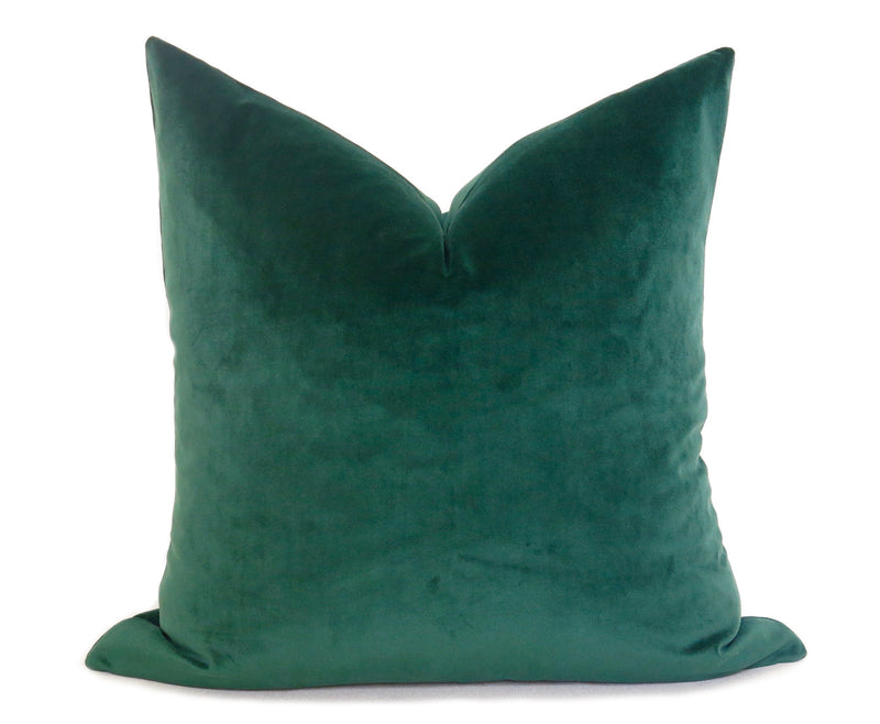 Belgium Velvet Pillow Cover - Pistachio