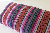 LIMITED 011 - Peruvian Stripe Pillow Cover