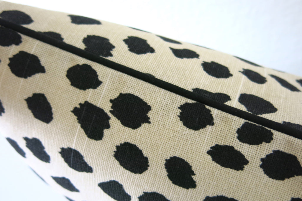 Duma Spots Pillow Cover - Beige