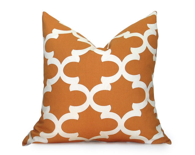 Le Souk Moroccan Pillow Cover - Orange
