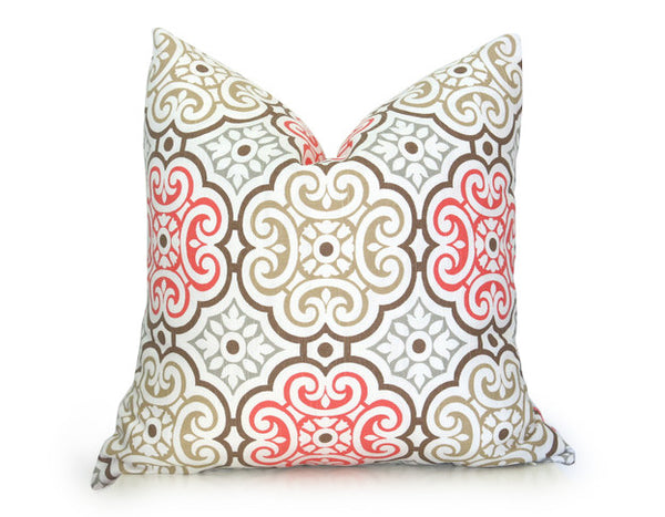 Medallion Pillow Cover Pink Coral Willa Skye Home Impressive Medallion Pillow Covers