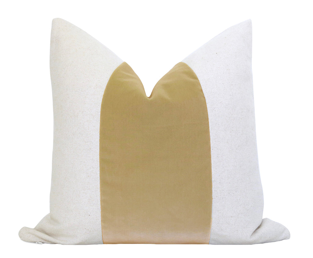 Mezzo Pillow Cover - Almond