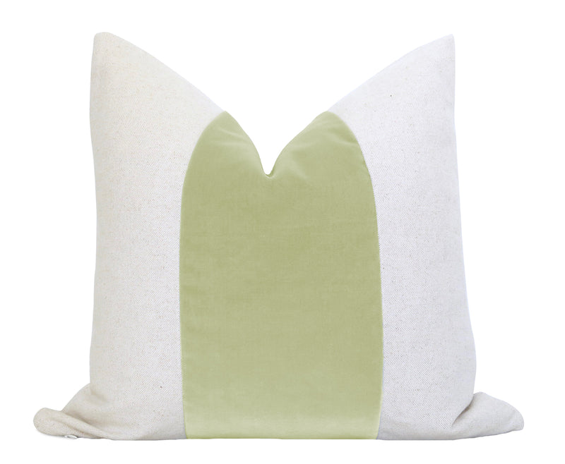 Cotton Velvet Pillow Cover - Peach