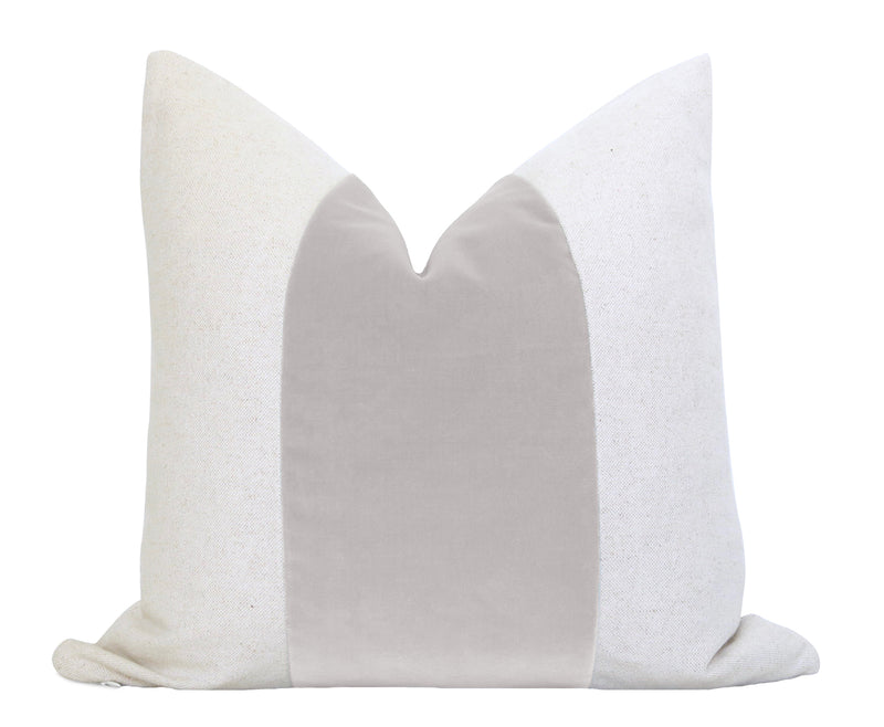 Antelope Pillow Cover - Black Linen