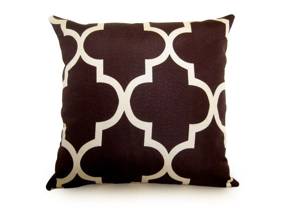 Moroccan Pillow Cover - Java