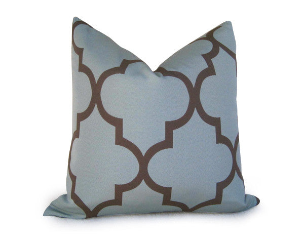 Moroccan Pillow Cover - Teal