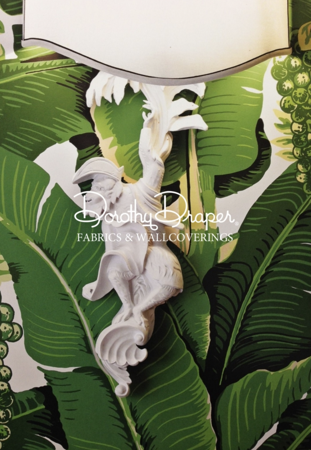 Brazilliance Banana Leaf Wallpaper - Dorothy Draper