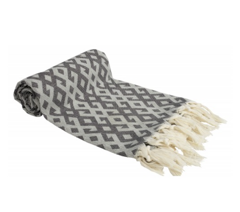 Turkish Dish Towel - Black