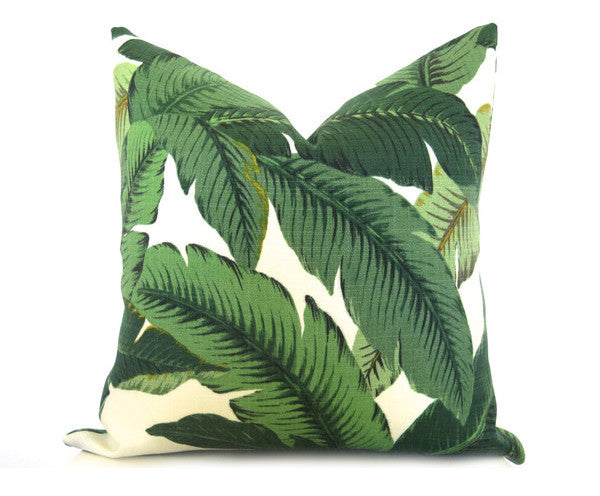 Famous Palm Leaf Pillow Cover - Green – Willa Skye Home XR75