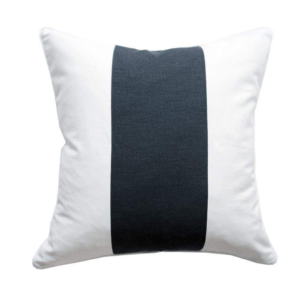 The Everygirl x Willa Skye - Neo Colorblock Pillow Cover - Black