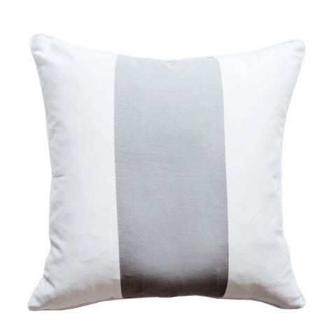 The Everygirl x Willa Skye - Neo Colorblock Pillow Cover - Gray