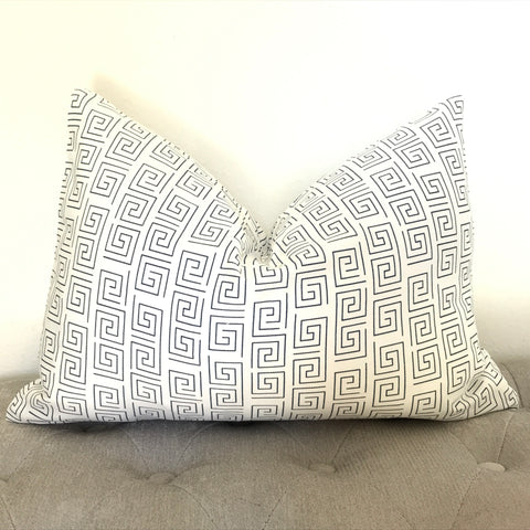 Set of 2 Burlap Polka Dot Pillow Covers
