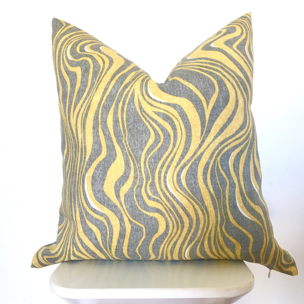 Waves Outdoor Pillow Cover