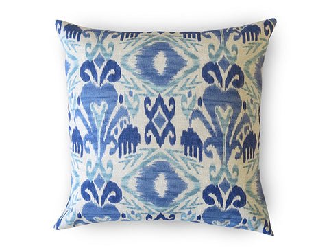 X Indigo Pillow Cover