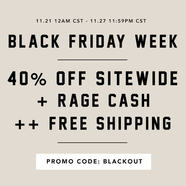 Black Friday Week Starts 11.21