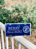 Berry Alumni License Plate
