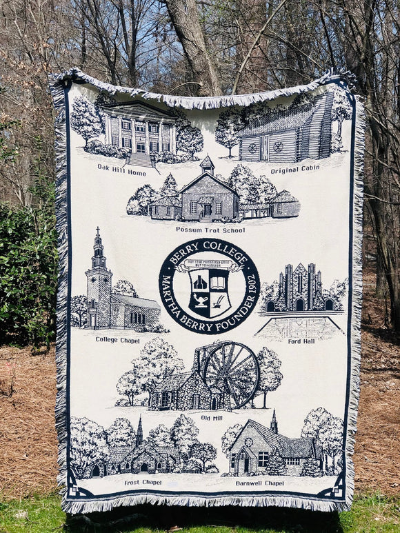 Berry College Afghan