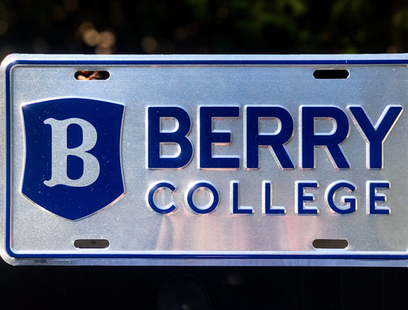 Berry College License Plate