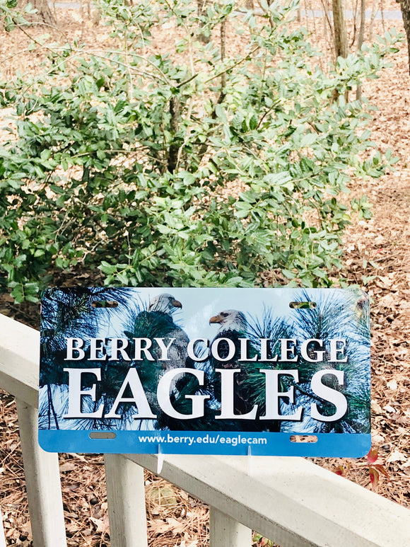 Berry College Eagles License Plate