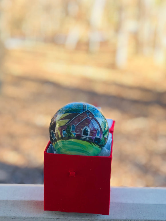 Frost Chapel Ball Ornament