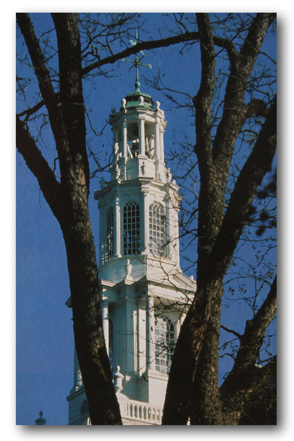 College Chapel Spire Postcard