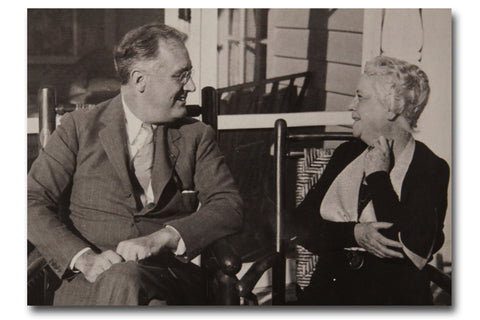 FDR & Martha Berry Postcard