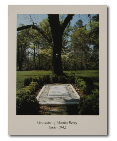 Martha Berry's Gravesite Card