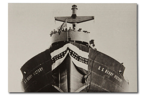 SS Berry Victory Postcard