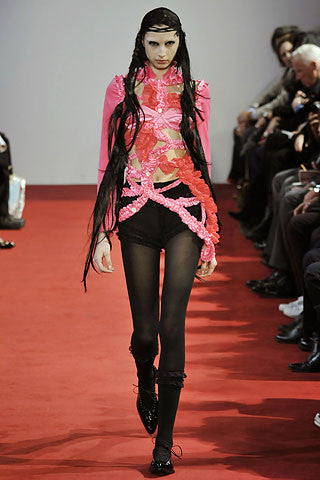 runway ribbon dress c. 2008