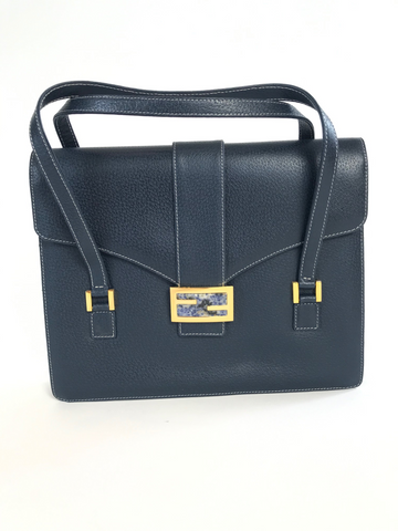 FENDI Navy Bag with Granite