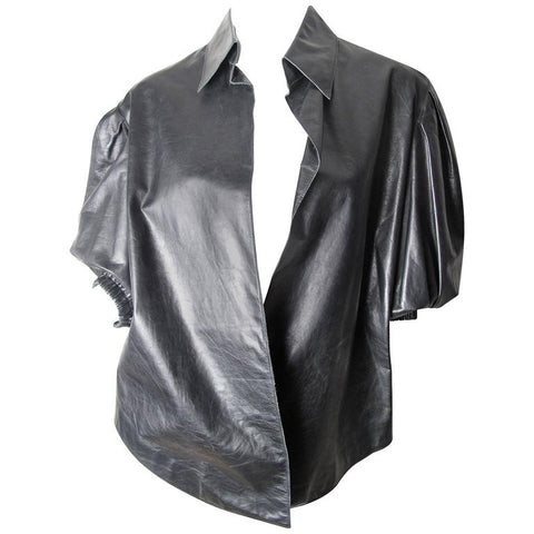 Yves Saint Laurent Leather Shirt