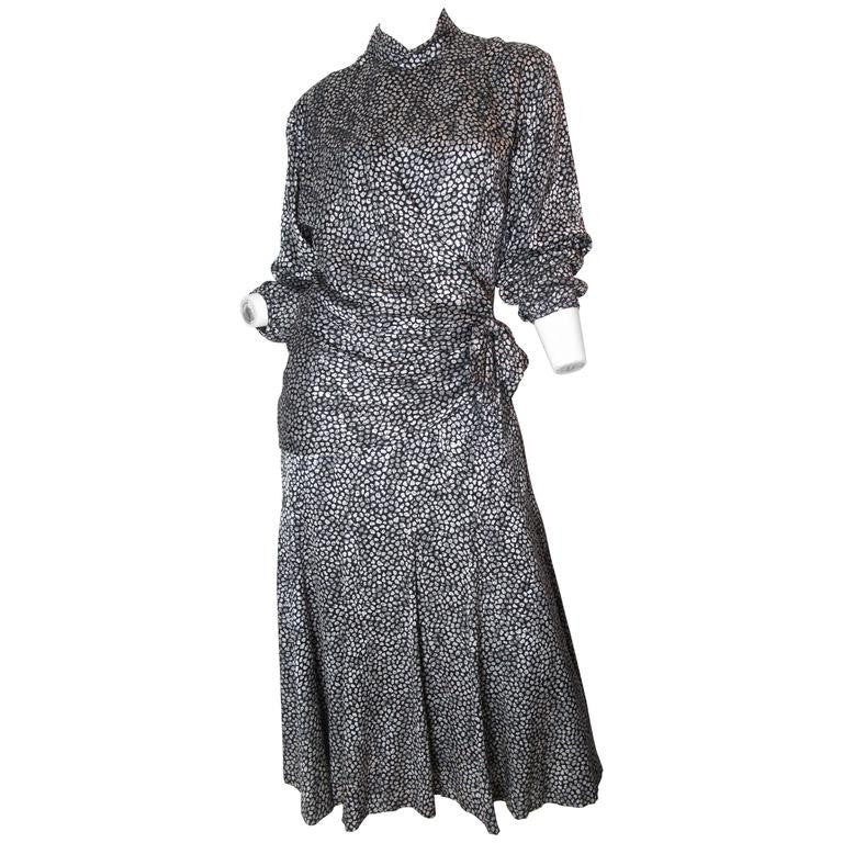 Paul-Louis Orrier Silk Dress