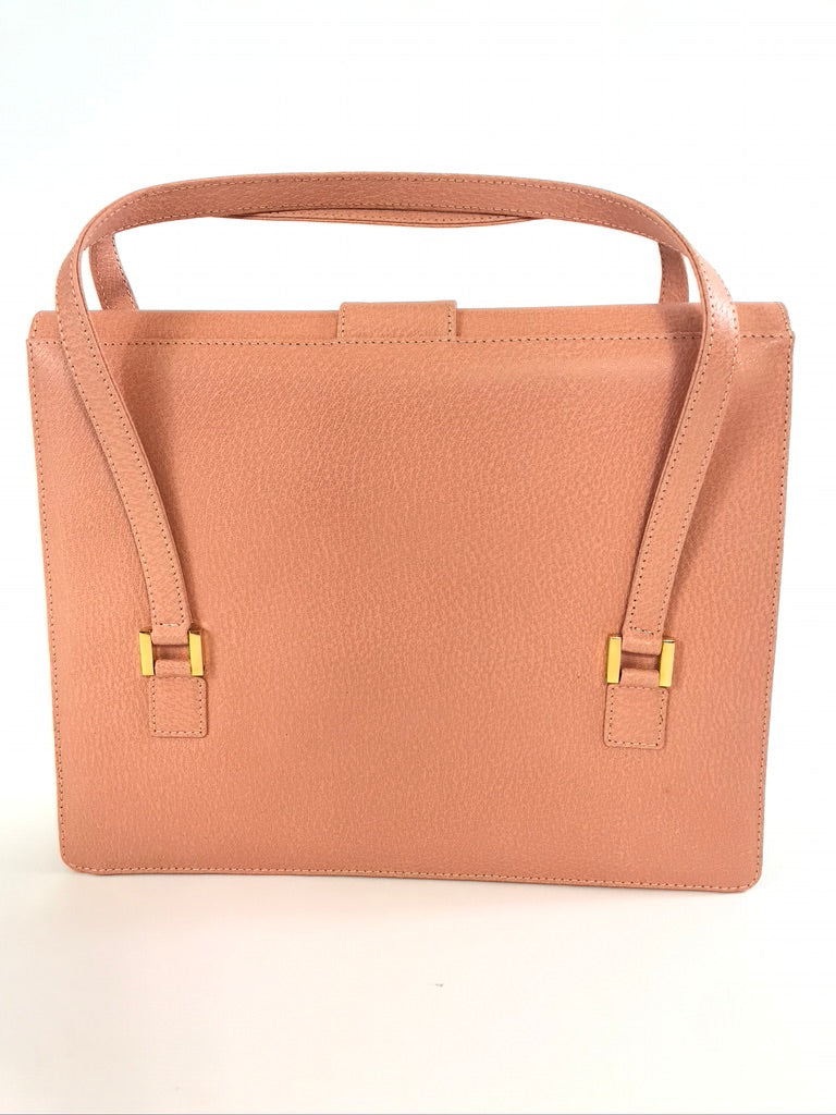 FENDI Pink Leather Handbag