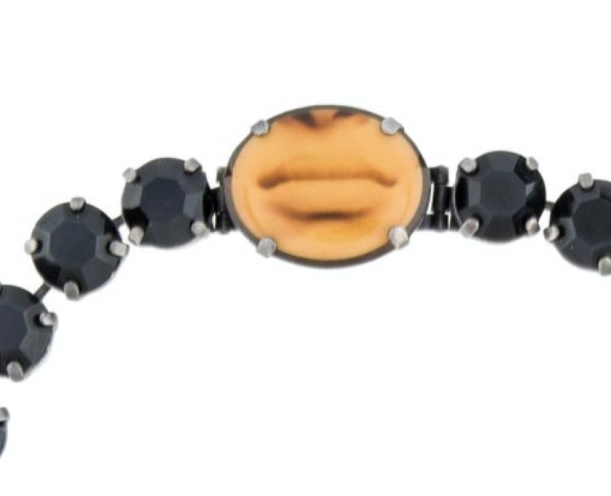1990s JEAN PAUL GAULTIER MOUTH CHOKER