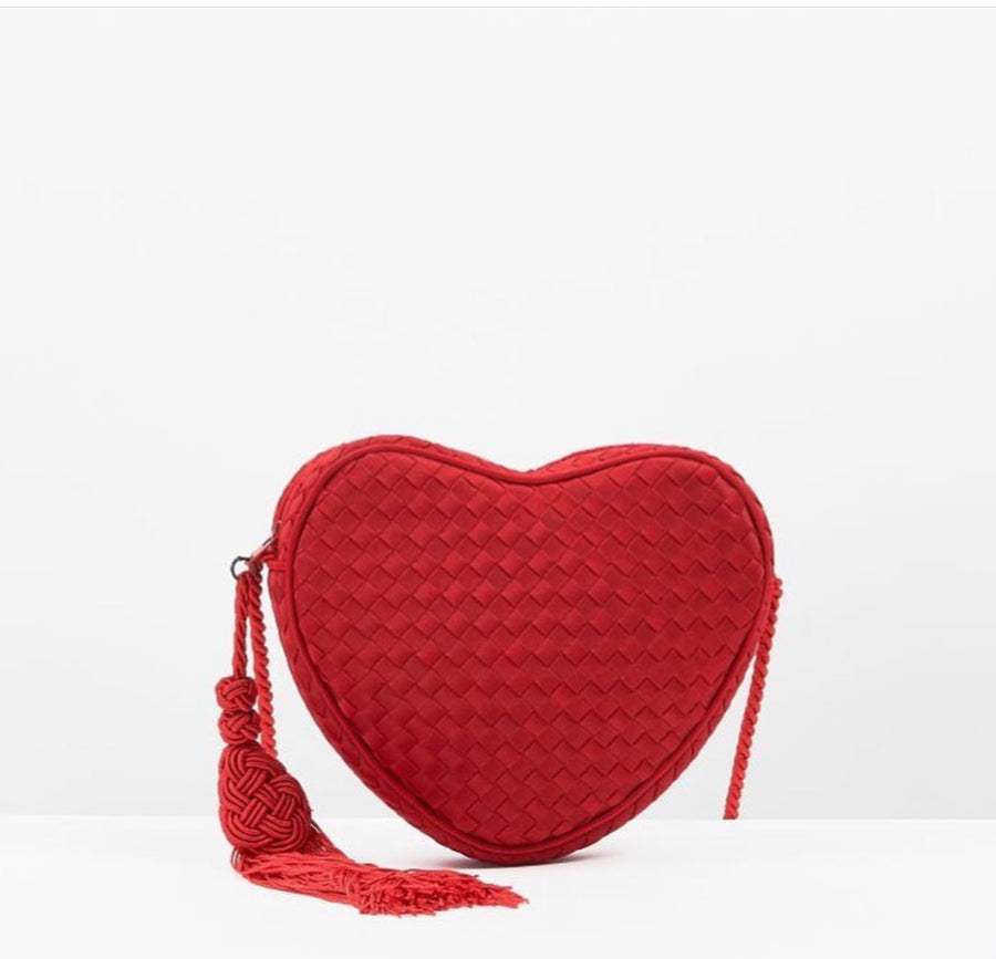 BOTTEGA VENETA HEART BAG