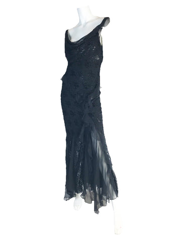 CHRISTIAN DIOR EVENING GOWN