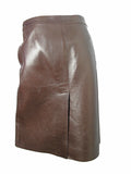 PRADA leather skirt